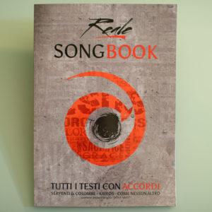 Reale Songbook - testi e accordi 2017